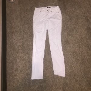 Pants - White corduroy pants